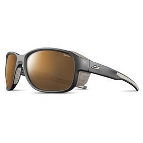 Julbo Monterosa 2 Reactiv High Mountain 2-4 Sunglasses, negro/marrón